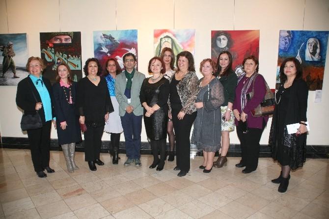 Eskişehir'de Öncü Kadınlarımız Resim Sergisi