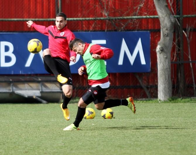 Gençlerbirliği, Fenerbahçe Maçı Hazırlıklarını Sürdürdü