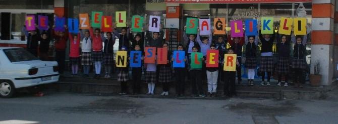 Gaziantep'te Öğrenciler İki Projeyi Birleştirdi