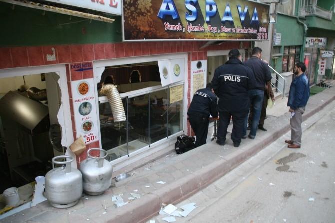 Yozgat'ta Mutfak Tüpü Patladı 1 Kişi Yaralandı