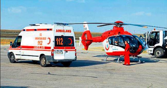 Antalya'ya ambulans ve istasyon takviyesi