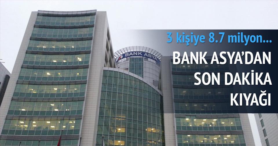 Bank Asya'dan son dakika kıyağı