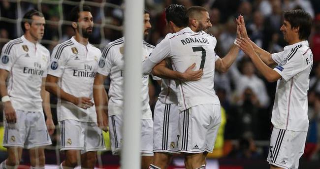 Real Madrid'den Şampiyonlar Ligi'nde bir ilk