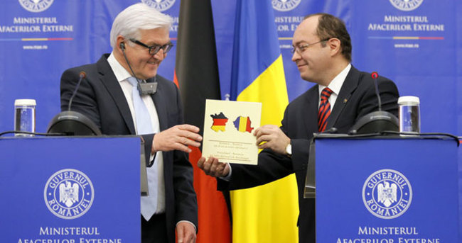Romanya plaketinde Almanya skandalı