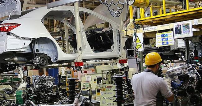 Türkiye'nin araç üretimi arttı
