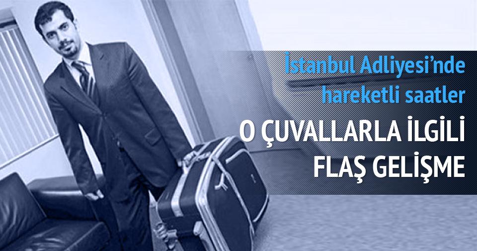 Mehmet Baransu'nun çuvalları İstanbul Adliyesi'nde