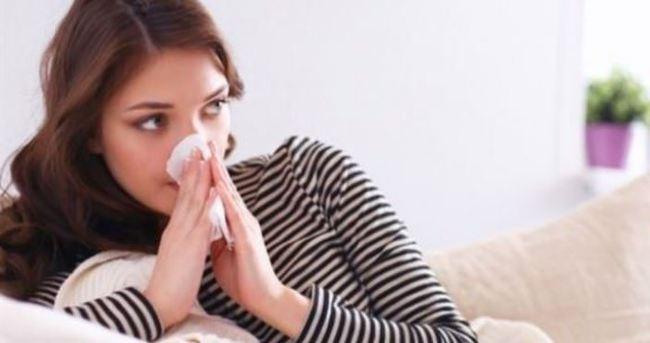Bahar alerjiyle vuruyor