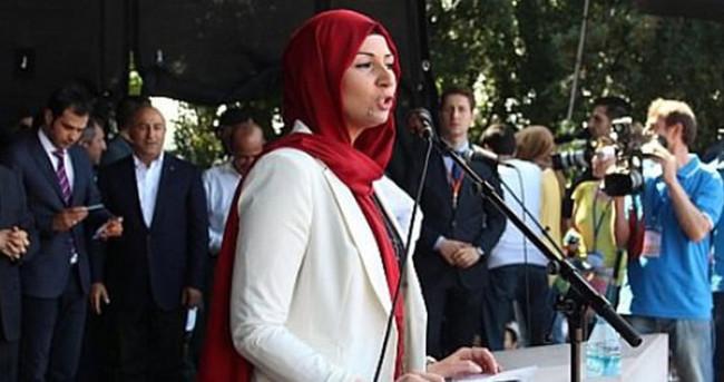 Başörtülü siyasetçiye skandal ayrımcılık