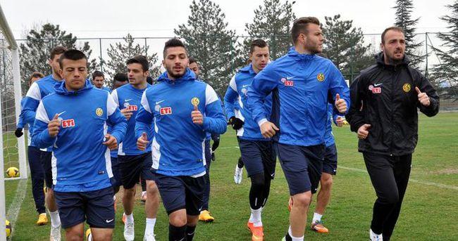 Eskişehirspor'da hedef 3 puan