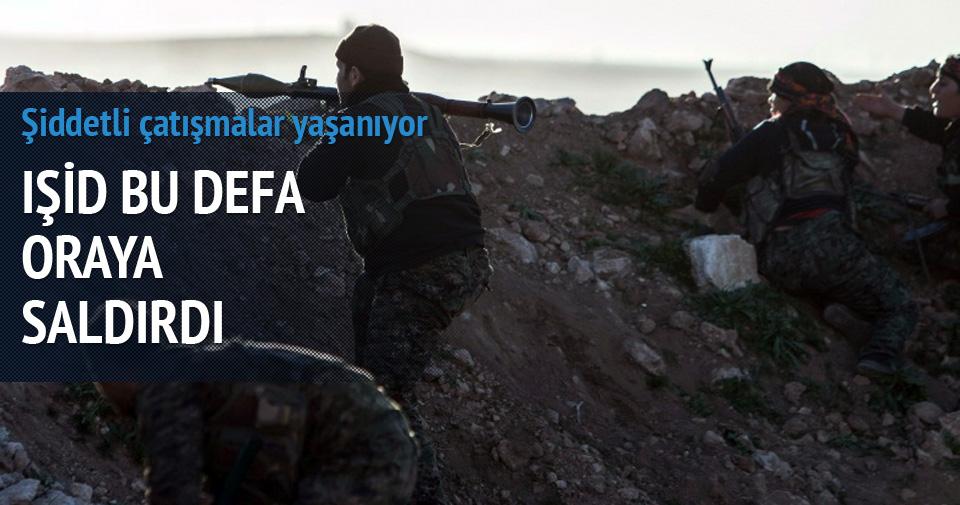 IŞİD'den Rasulayn'a geniş çaplı saldırı