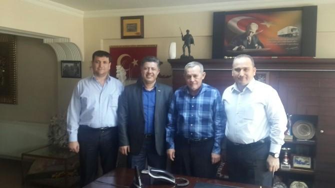 Özkan'dan Soma Nakliyecileri Kooperatifi'ne Ziyaret