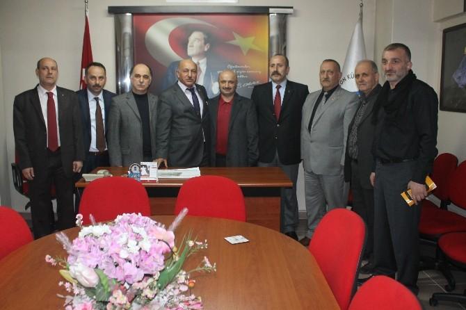 Cansız'dan Trabzonlulara Ziyaret