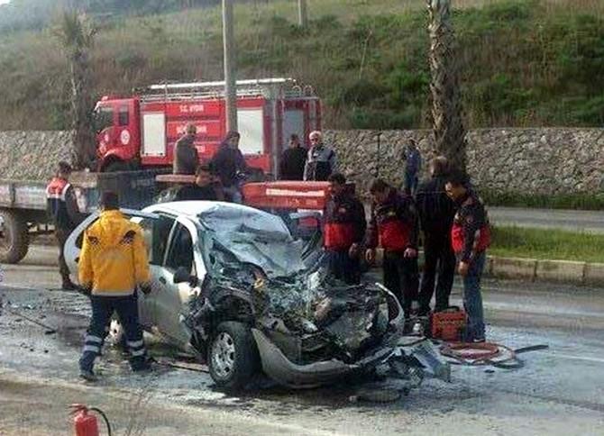 Aydın'ın Şubat Bilançosu: 5 Ölü, 298 Yaralı