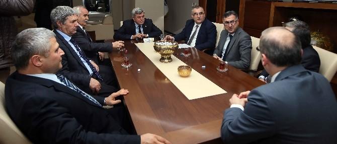 Başkan Karaosmanoğlu, Mali Müşavirler Odasını Ağırladı