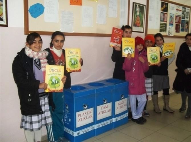 Adilcevaz'da Kâğıt Toplama Kampanyası