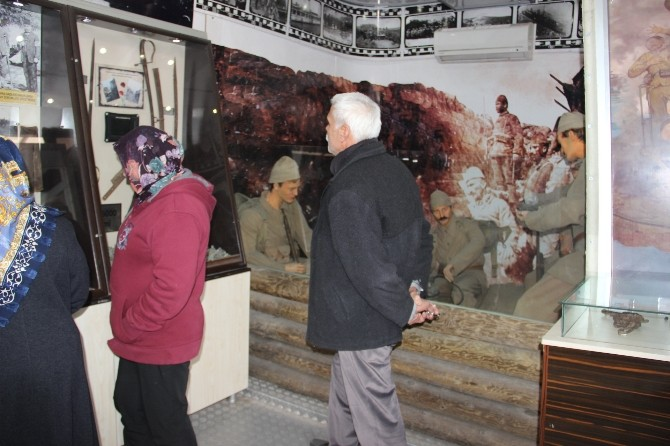 Çanakkale Savaşları Gezici Müzesi Çan'da