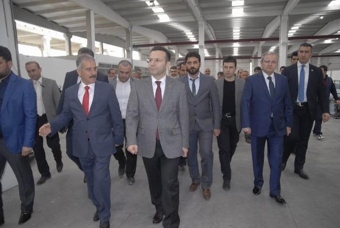 Vali Aksoy'dan OSB Ziyareti