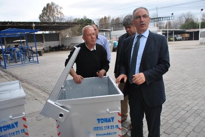 İncirliova'da Çöp Konteynırları Değişiyor