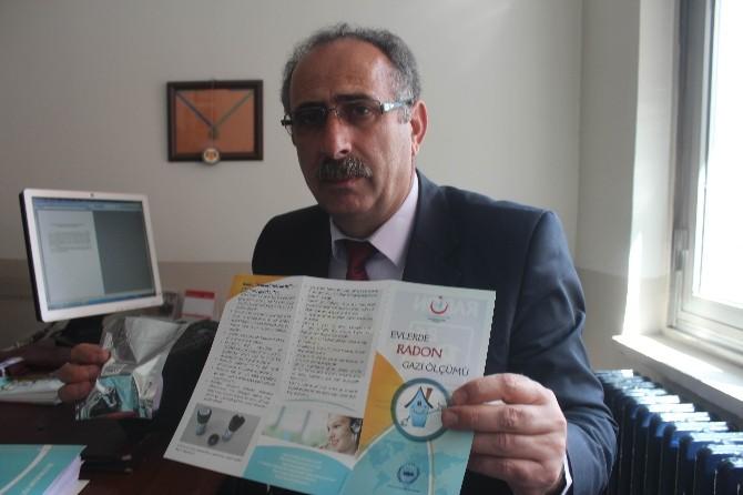 Beyşehir'de Evlerde Radon Gazı Ölçümleri Yapılacak
