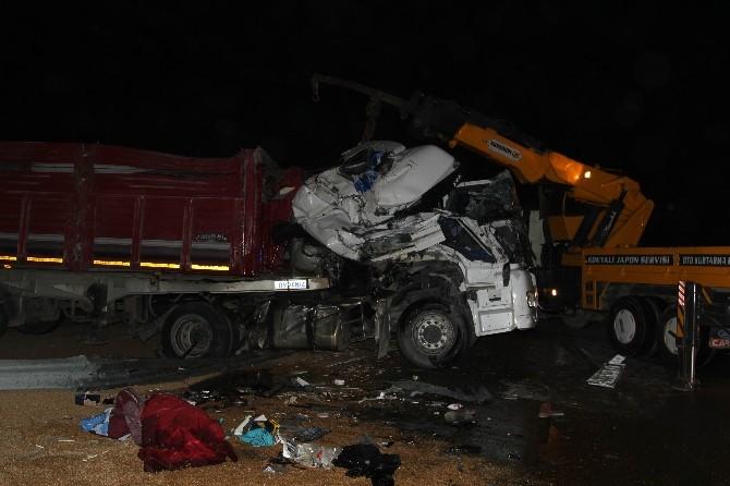 Cihanbeyli'de Zincirleme Kaza: 4 Yaralı