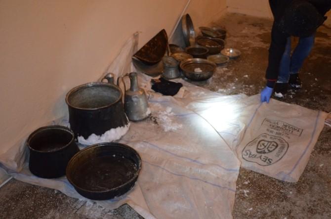 Seydişehir'de 7 Hırsızlık Şüphelisi Gözaltına Alındı