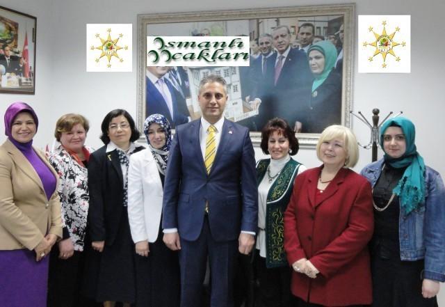 Osmanlı Ocakları Kadın Kolları Genel Başkanı Atandı
