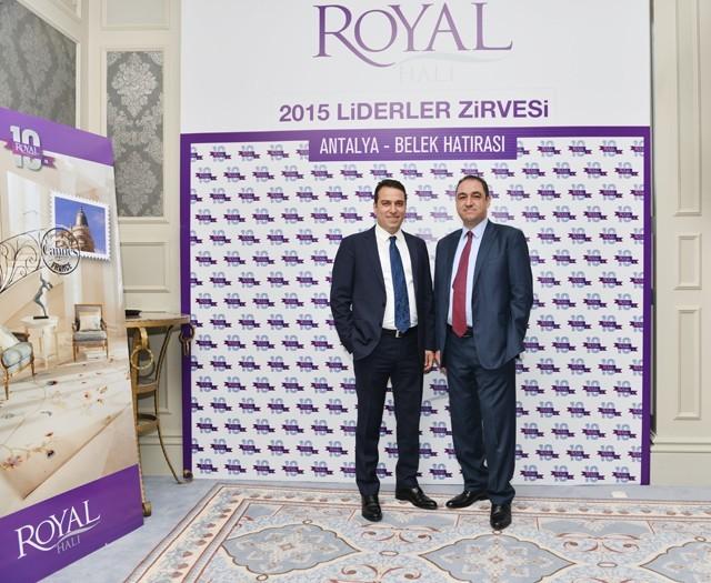 Royal Halı Ve Pierre Cardin Halı'nın Yeni Modelleri Antalya'da Tanıtıldı