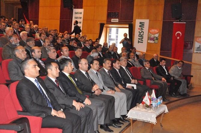 Tunceli'de Tarım Sigortaları Bilgilendirme Toplantısı