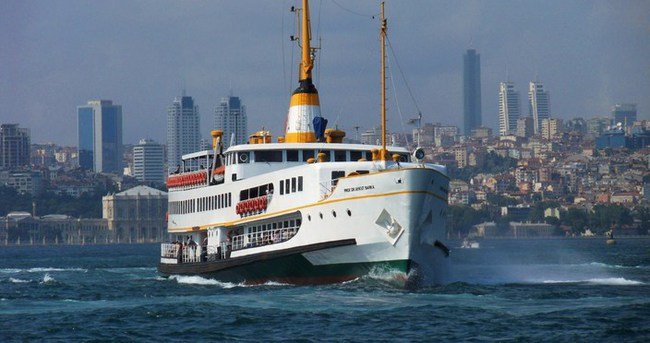 İstanbul'da vapur seferleri iptal