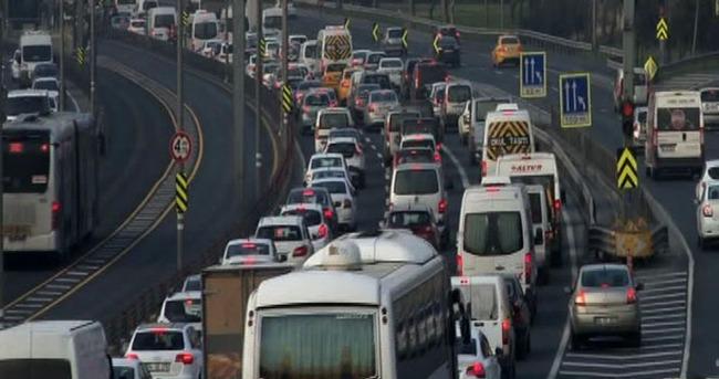 Araç sayısı 19 milyona dayandı