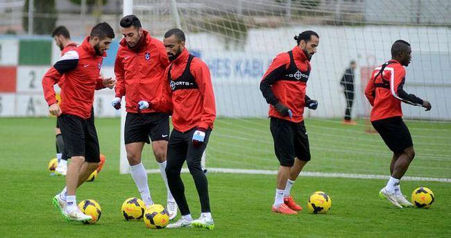 Trabzonspor'da 3 eksik