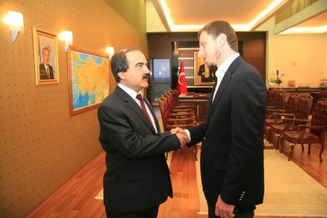 AK Gençlik'ten Vali Coş'a Ziyaret