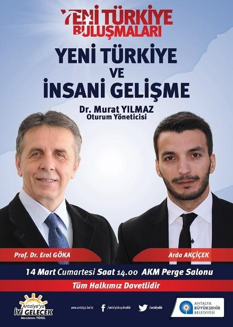 Yeni Türkiye Ve İnsani Gelişme Konusu Ele Alınacak