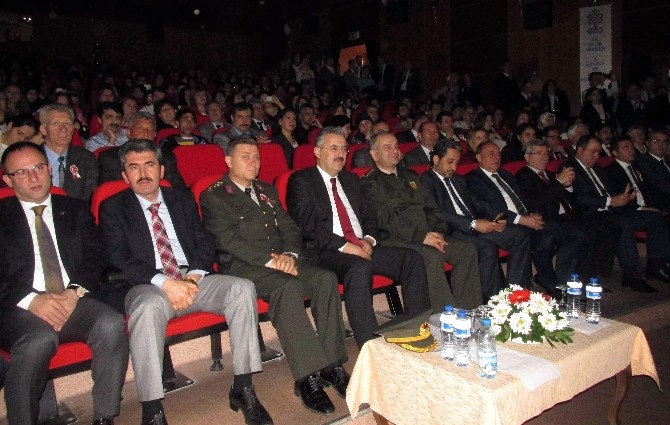 İstiklal Marşı'nın 94. Kabul Yıl Dönümü Aydın'da Kutlandı