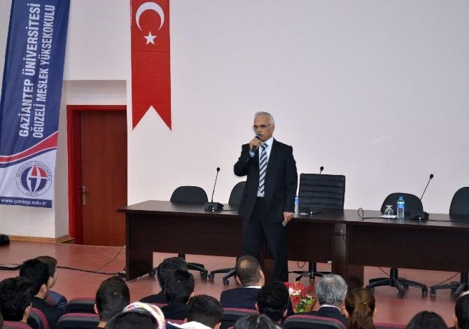 YURTKUR Bölge Müdürü Ahmet Kölemen Oğuzeli MYO'da