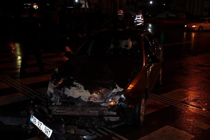 Kayseri'de Trafik Kazası: 1 Ölü 4 Yaralı