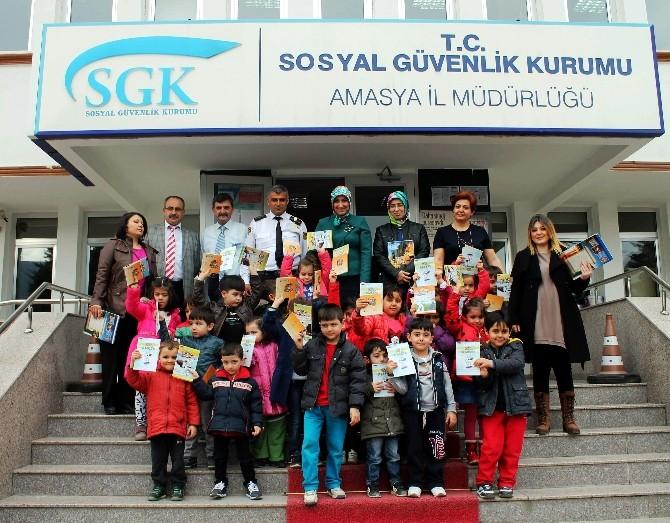 Anaokulu Öğrencilerinden SGK'ya Ziyaret