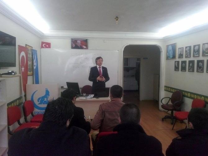 """Ülkü Ocaklarının """"Liderlik Okulu"""" Seminerleri Devam Ediyor"""