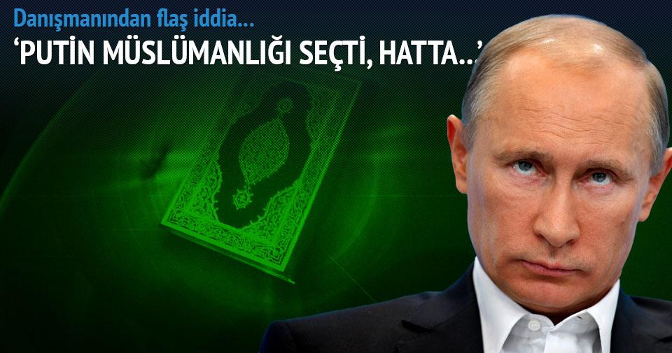 Putin Müslüman oldu iddiası!