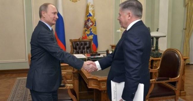 Putin bu fotoğrafla göründü