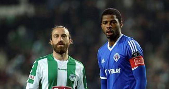 Zorlu maçı Konyaspor kazandı