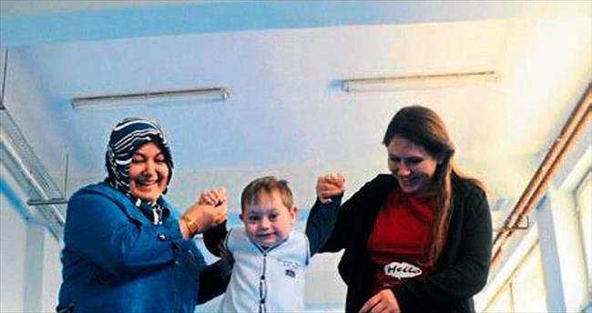 Down sendromlu çocuklar paralimpiklere hazırlanıyor