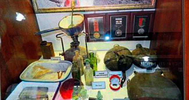 Gezici savaş müzesi Özdilek'te keşfedildi