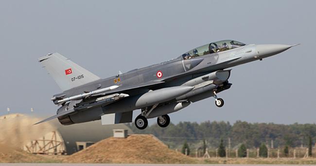 Türk F-16'larına Yunanistan ve Suriye tacizi