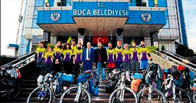 Buca'nın gençleri Çanakkale yolunda