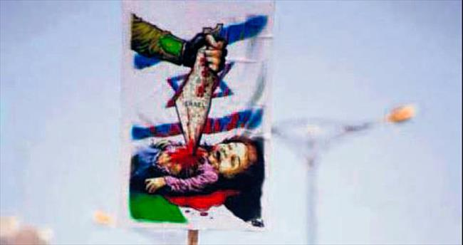 İsrail karşıtlığına özgürlük yok