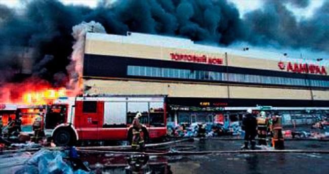AVM yangınında bir Türk öldü