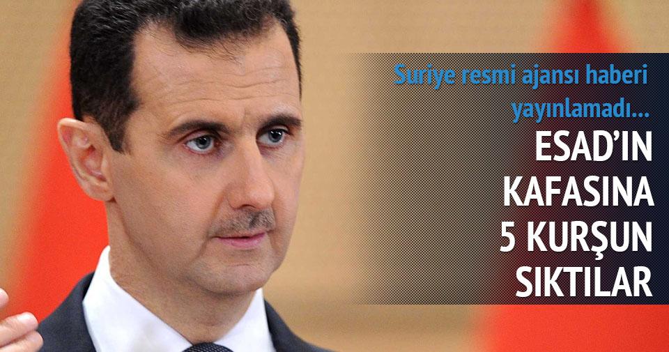 Esad'in kuzeninin kafasına 5 kurşun sıktılar