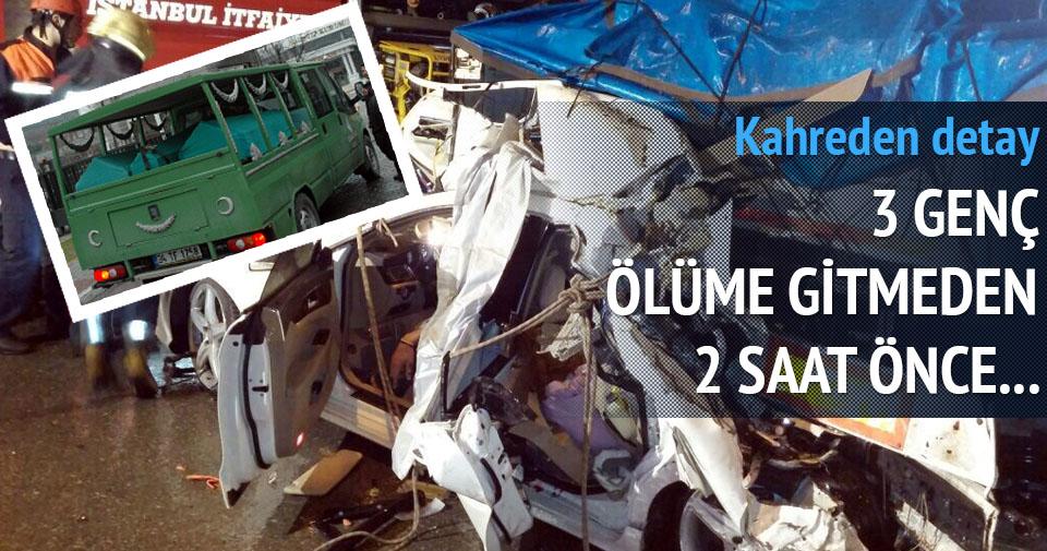 Şile yolunda feci kaza: 3 ölü