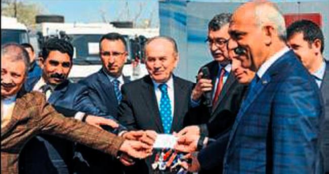 Başkan Tiryaki Topbaş'ı ağırladı